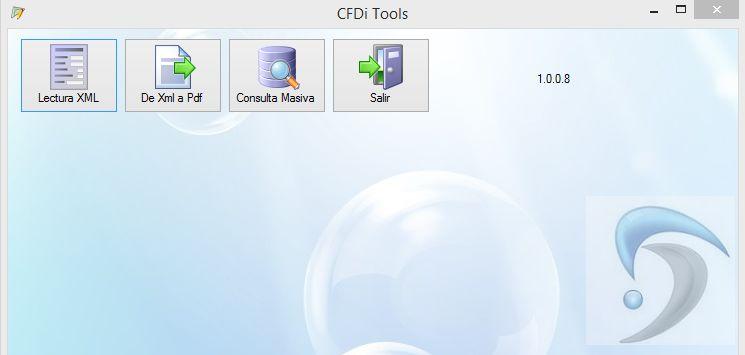 visualizar exportar pdf a excel cfdi tools