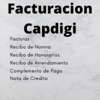 Facturacion Capdigi