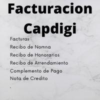 Facturacion captura digital