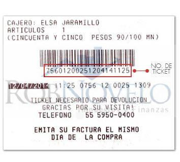 Facturacion ticket costco