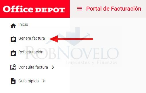 facturacion office depot