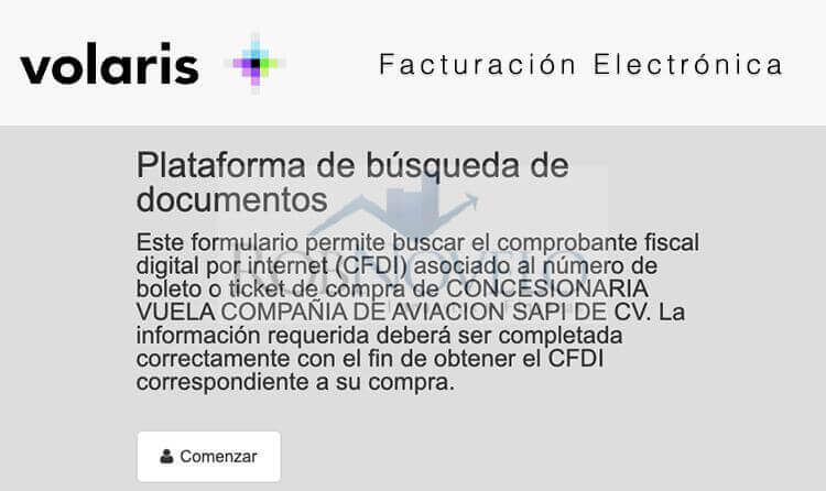 Facturacion volaris