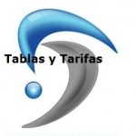 Tablas y tarifas