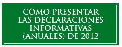 declaraciones informativas 2012