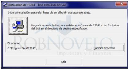 como instalar f3241