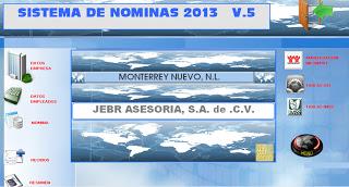 nomina quincenal 2013